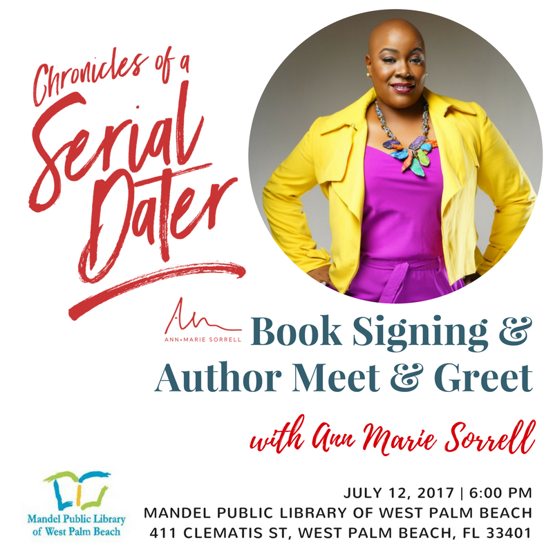 Ann Marie Book Signing Mandel | Chronicles of a Serial Dater